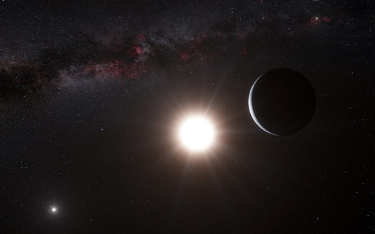 Astronomers Find Cousin Planets Around Twin Stars