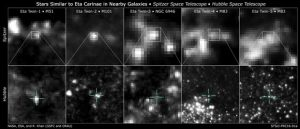Astronomers Find Eta Twins in Four Galaxies