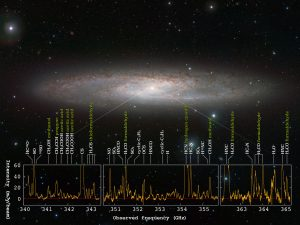 Astronomers Find Forest of Molecular Signals in Star Forming Galaxy