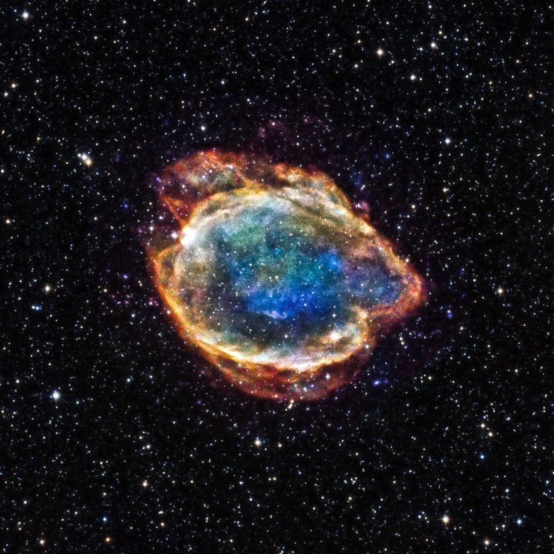 Astronomers Find Signatures of a Messy Star