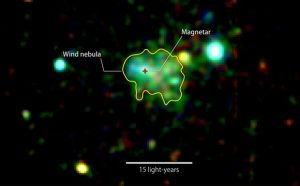 Astronomers Find Wind Nebula Around a Magnetar
