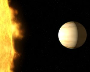 Astronomers Find a Large Amount of Water in an Exoplanet's Atmosphere