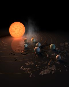 Astronomers Identify Major Challenges for the Development of Life in TRAPPIST-1
