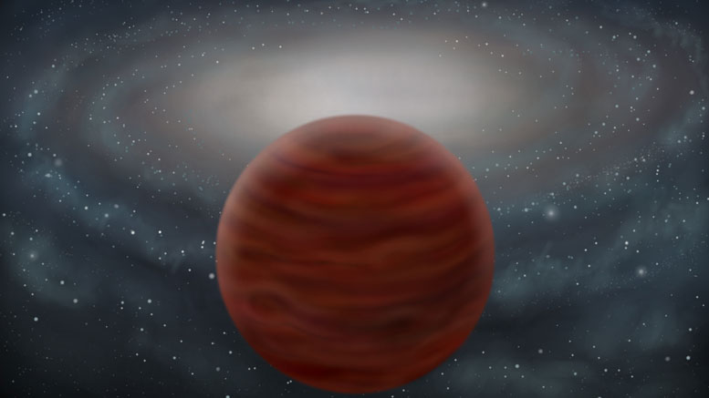 Astronomers Identify Massive Brown Dwarf