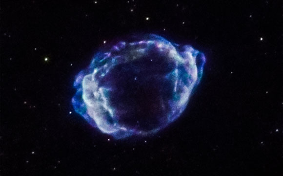 Astronomers Identify Trigger for Milky Way's Youngest Supernova