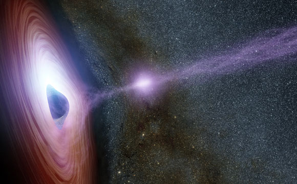 Astronomers Link the Launching of the Corona to a Black Hole Flare