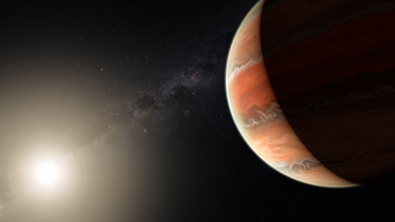 Astronomers Make First Detection of Titanium Oxide in an Exoplanet