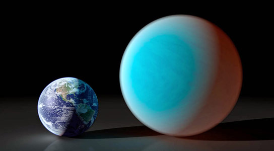 Astronomers Measure Super-Earth Transit Using a Ground-Based Telescope