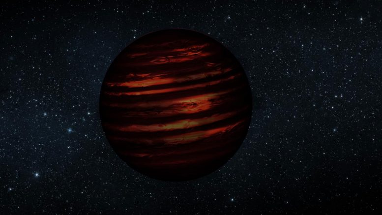 Astronomers Measure Temperature Shift in Cooling Brown Dwarfs for the First Time