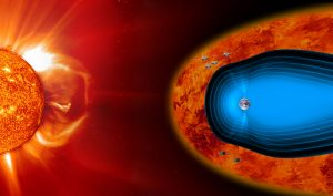 Astronomers Measure Turbulence in Earth's Magnetic Environment