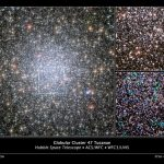 Astronomers Measure the Rate of Diffusion of Stars Through the Core of the Globular Cluster 47 Tucanae