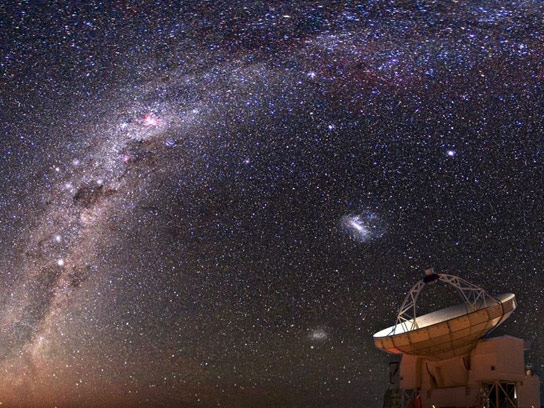 Astronomers Observe Nurseries of Massive Stars in Our Galaxy