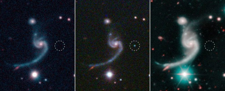 Astronomers Observe Surprisingly Faint and Rapidly Fading Supernova