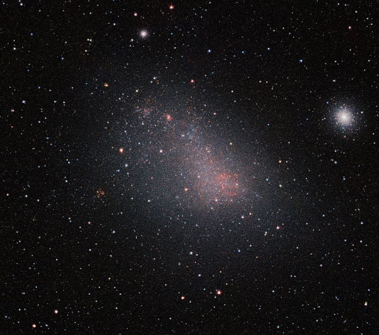 Astronomers Peek Through the Small Magellanic Cloud