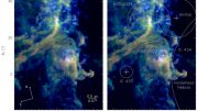Astronomers Reveal Detailed Relationships Between Gas and Dust in Molecular Clouds