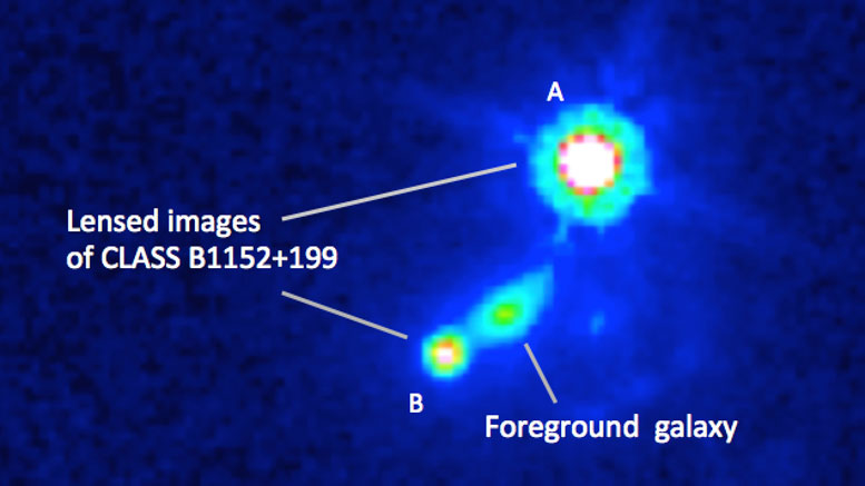 Astronomers Reveal Distant Galaxy's Magnetic Field