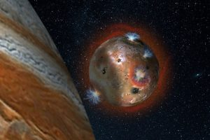 Astronomers Reveal Fluctuating Atmosphere of Jupiter's Volcanic Moon