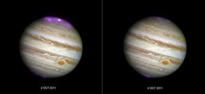 Astronomers Reveal Jupiter's Northern Lights