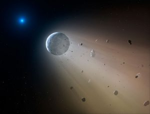 Astronomers Reveal a Disintegrating Minor Planet Transiting a White Dwarf