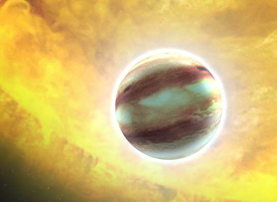Astronomers Search for Signs of Life on Dying Planets