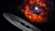 Astronomers Show Giant Ringed Planet Likely Cause of Mysterious Eclipses