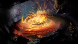 Astronomers Study Chaotically Magnetized Cloud