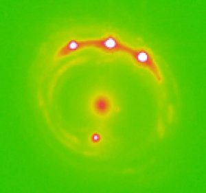 Astronomers Use Quasar Microlensing to Probe Planets in Extragalactic Galaxies