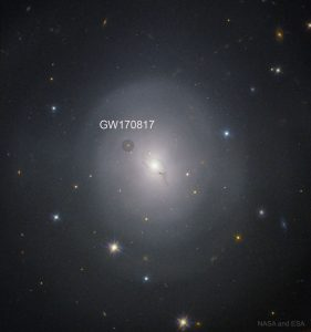 Astronomers Use a Single Gravitational Wave Event (GW170817) to Measure the Age of the Universe