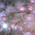 Astronomers View Massive Galaxy in Core Formation Phase