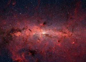 Astronomers View Star Formation in Galactic Centers