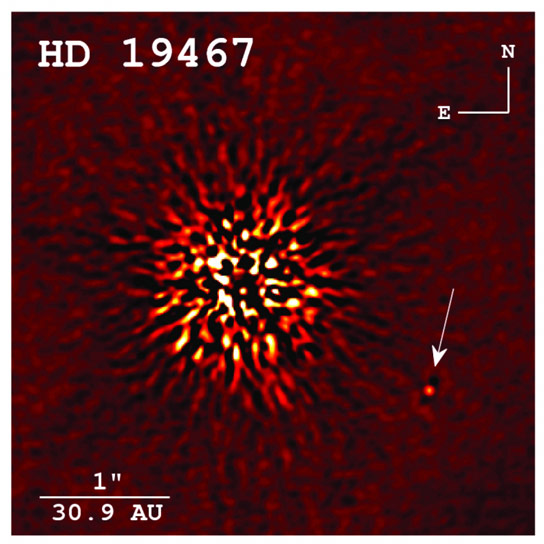 Astronomers View a Very Rare Brown Dwarf Star