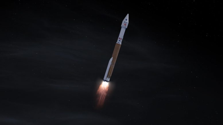Atlas V 411 Launching Solar Orbiter Into Space