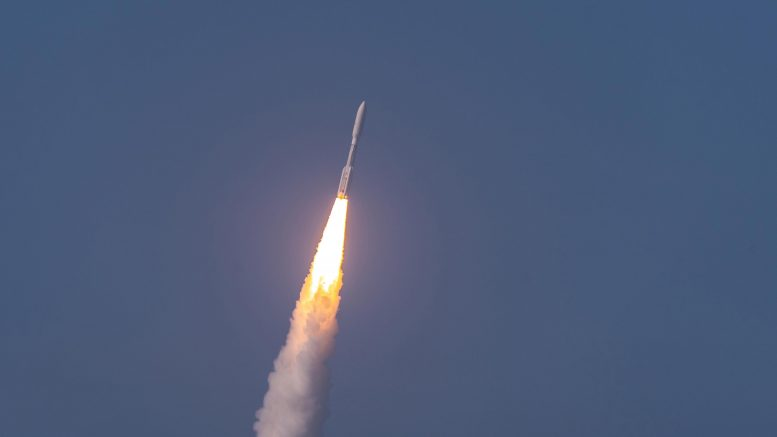 Atlas V Rocket AEHF-6 Satellite