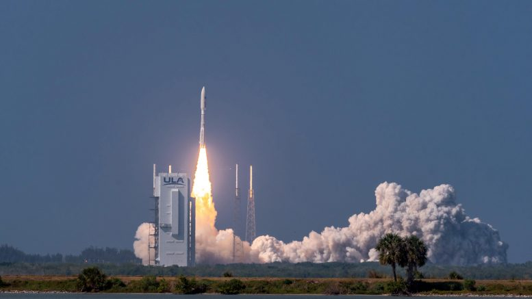 Atlas V Rocket Launch AEHF-6 Satellite