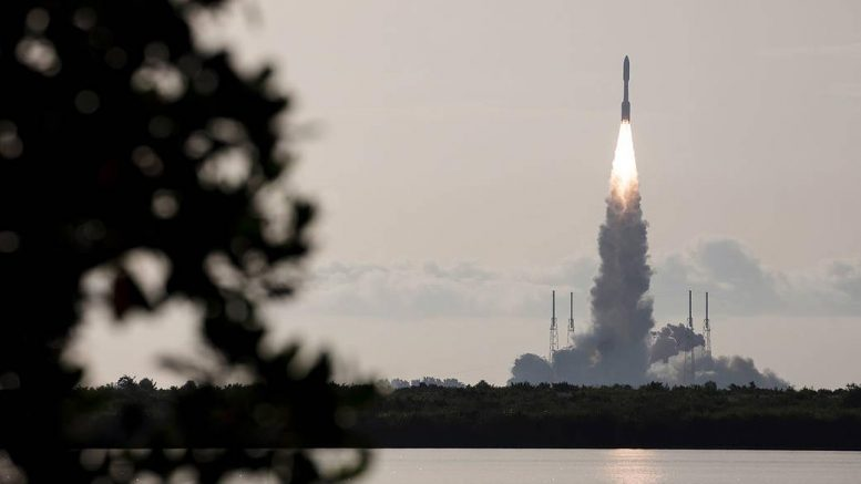 Atlas V Rocket Launches With Mars Perseverance Rover