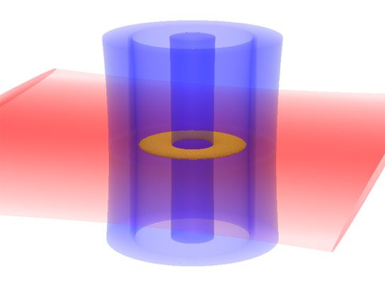 Atomtronics in a Quantum Circuit