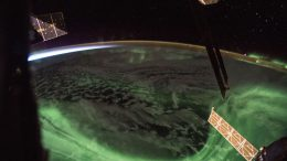 Aurora Over the Southern Hemisphere