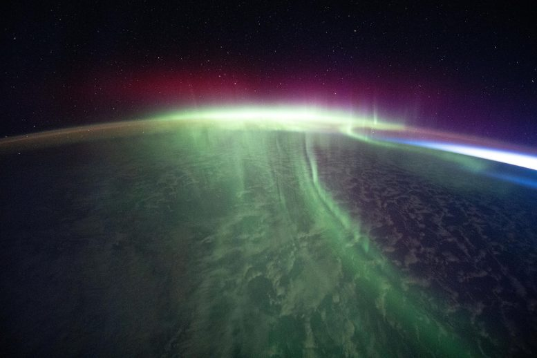 Aurora Over the Southern Skies