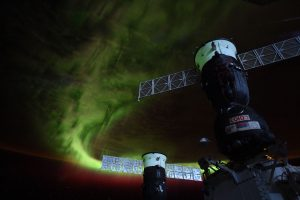 Aurora Viewed From the Space Station