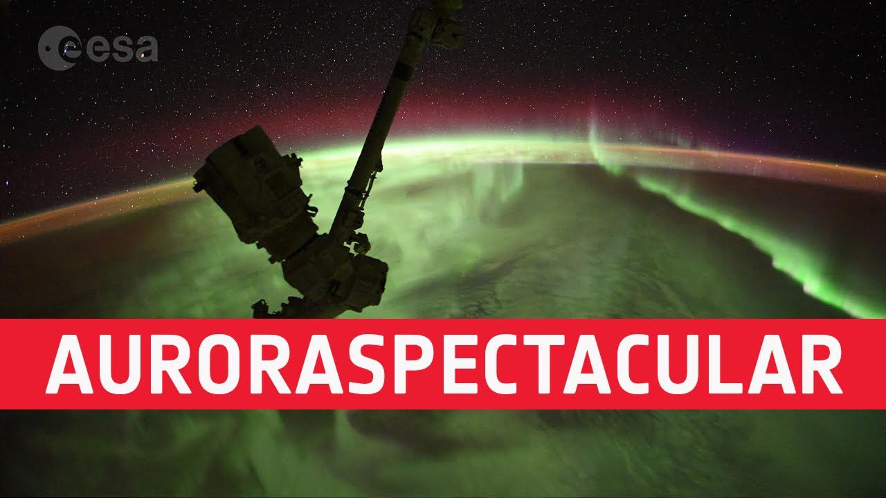 Auroraspectacular: Timelapse Video Made by Astronaut on International Space Station