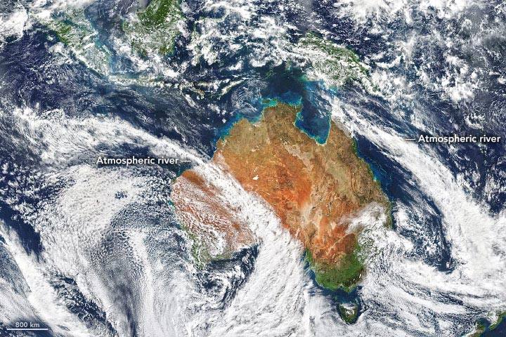 Australia Atmosphere August 2020 Annotated