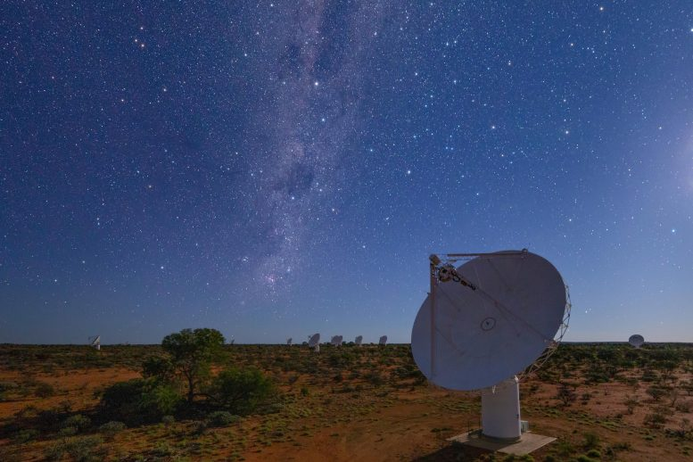 Ang Australian Esca Pathfinder Radio Telescope Night