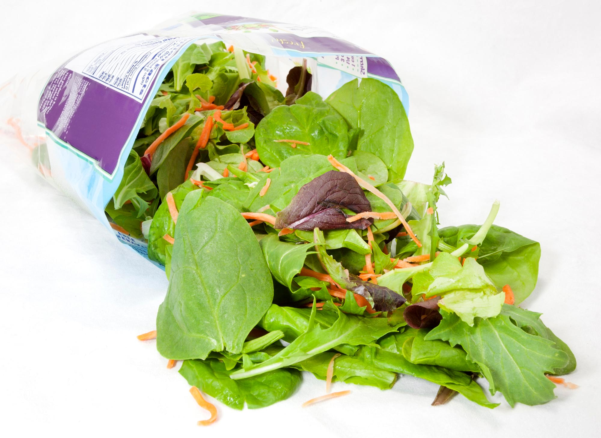 Diseases Developed In Bagged Salads