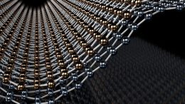 Illustration of a Bend in Bilayer Graphene