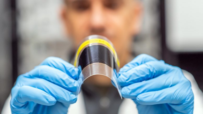 Bendy Ultra-Thin Solar Cell