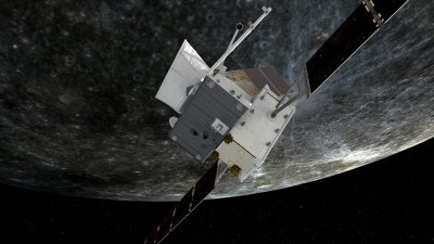 BepiColombo First Mercury Flyby 2