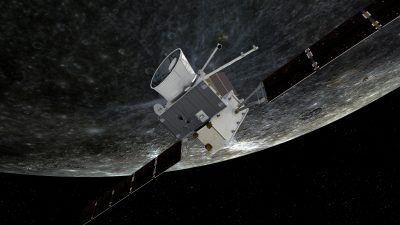 BepiColombo First Mercury Flyby 3
