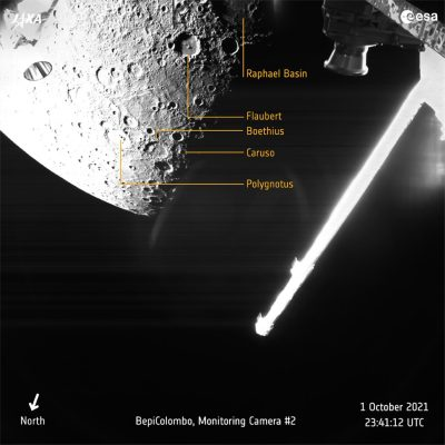 BepiColombo Meets Mercury Annotated