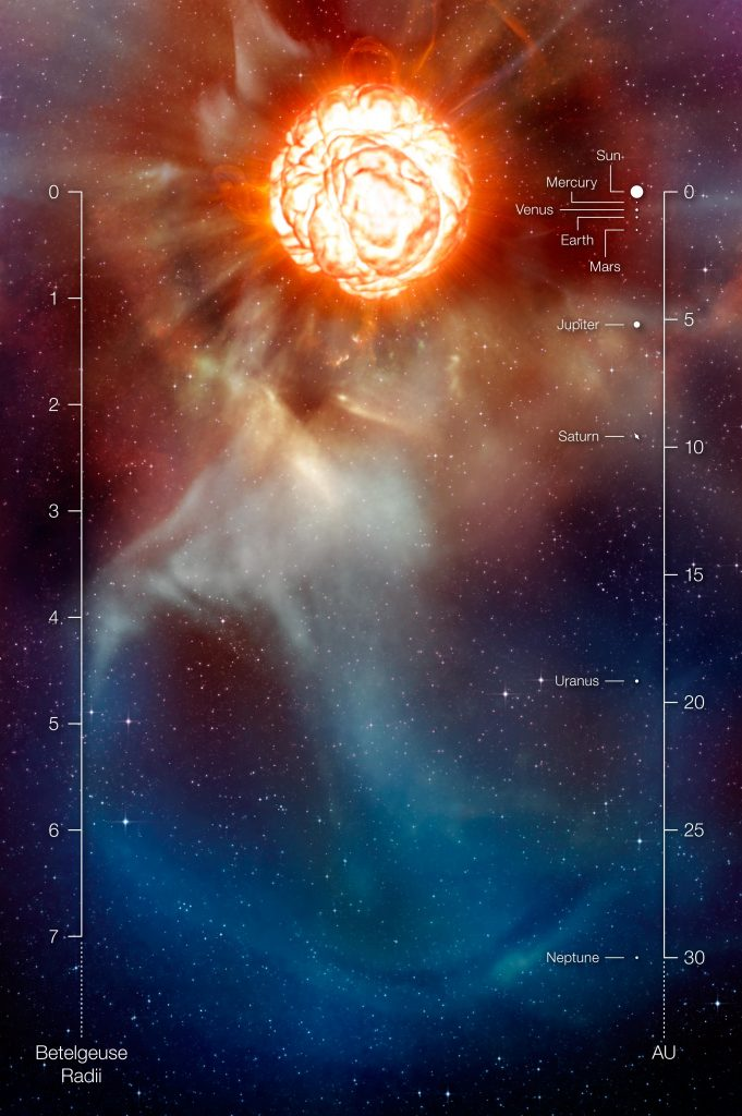 Betelgeuse Artists Impression