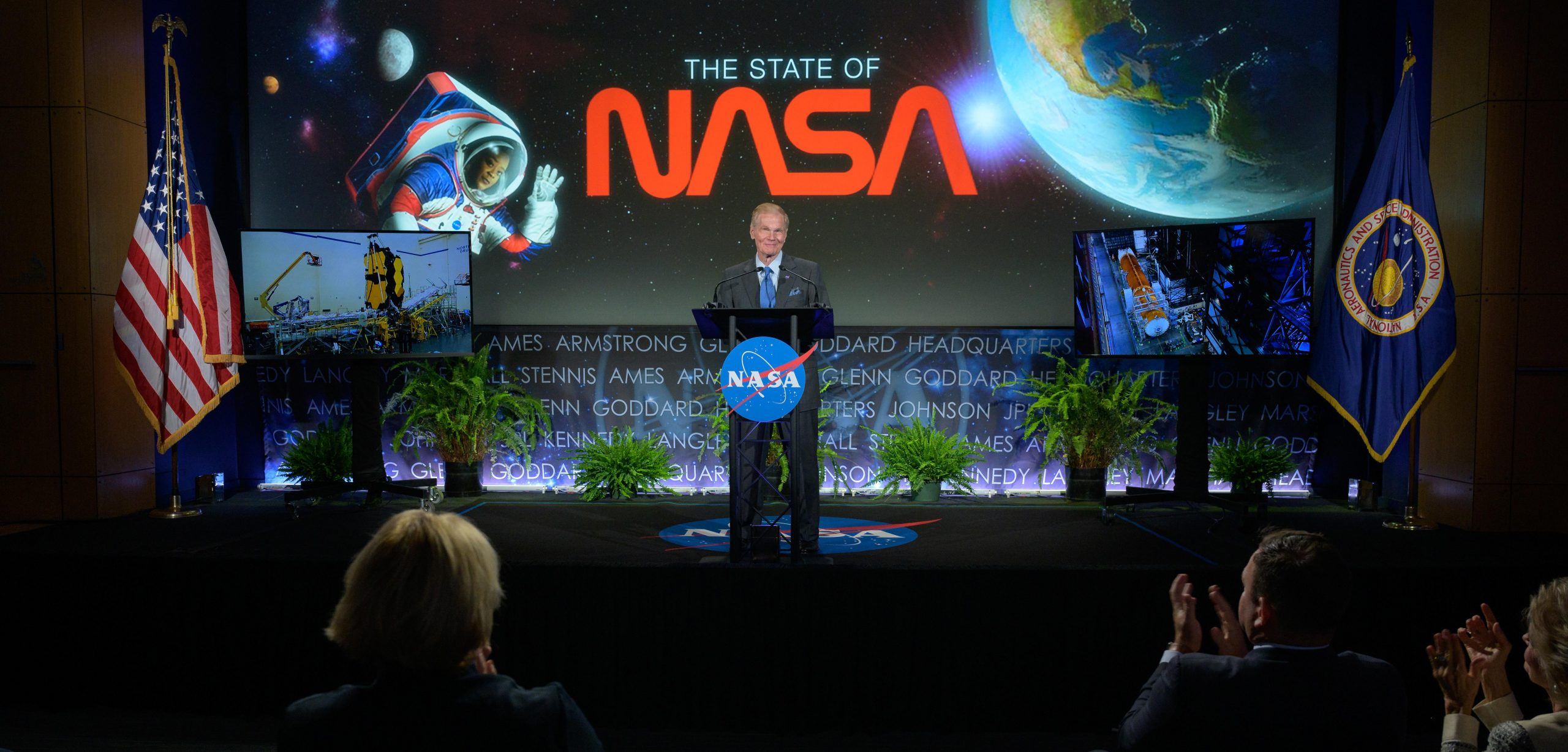 NASA Administrator Bill Nelson Delivers His First State of NASA Address